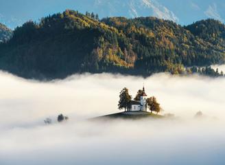 走进斯洛文尼亚唯美秋日 宛如人间仙境