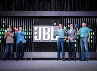 JBL携手张彬彬共同发布JBL PULSE3音乐脉动三代