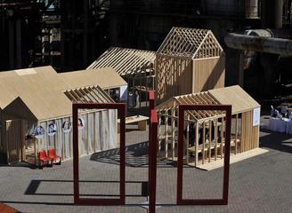 北京老工业区飞来瑞典小木屋——北欧木居(Nordic Space)精彩开幕