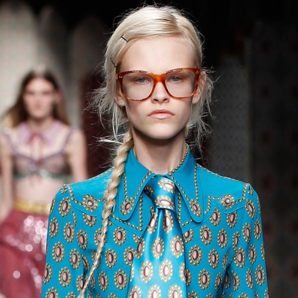 即使带着美如Gucci的眼镜,你也要会化妆