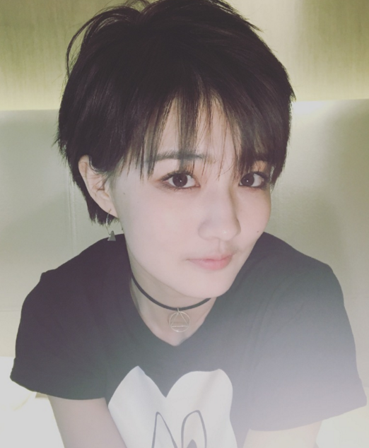 袁姗姗娜扎徐璐 同款短发的不同刘海图片图片