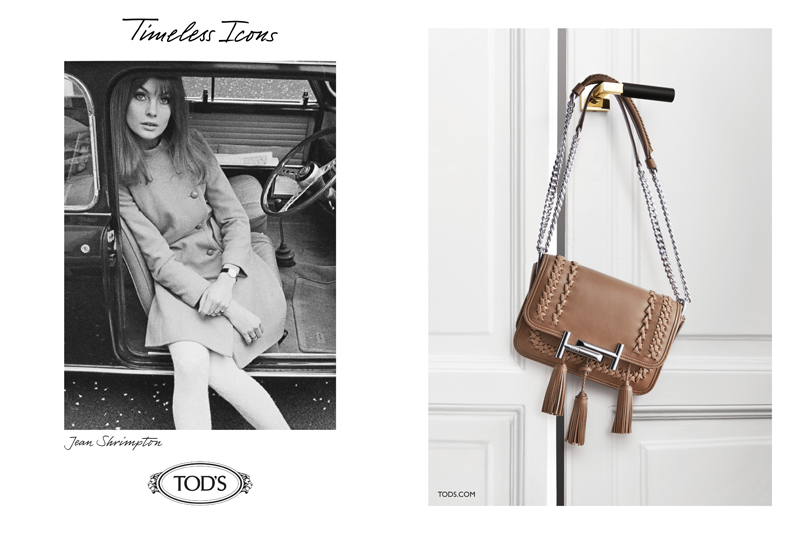TOD'S发布2016-17秋冬女装系列广告 Timeless Icons 绝代风华