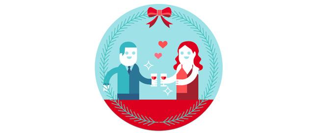 一顿双人套餐 许多西餐厅特别是酒店西餐厅都会推出圣诞套餐,厨师精心为节日准备的菜单只有在这一两天才能够品尝到,错过就再要等一整年! 传统圣诞风 圣诞节有着悠久绵长的传统,在人们相聚时的重头戏餐桌上亦有深刻体现。