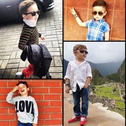 欧美时尚圈 五岁小男模爆红