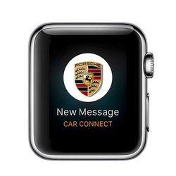 苹果粉丝该买汽车了!宝马保时捷推出Apple Watch应用
