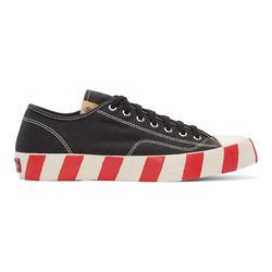 除了开口笑,帆布鞋还可以有斜杠底