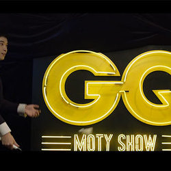 GQ MOTY   用羽毛球真的能打爆气球吗?董子健打算挑战一下