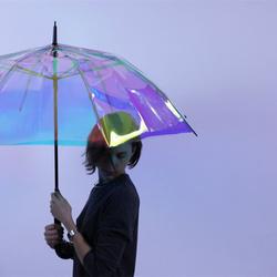 多功能智能雨伞 除了预知天气还能当自拍杆