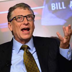 比尔·盖茨真的很厉害,但他并不会起微信标题