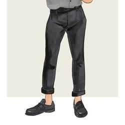 每日穿搭丨记得给你的裤脚卷条边