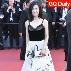 唯一带作品来戛纳的中国女星,在红毯逗留的时间却最短 | GQ Daily