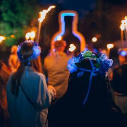 绝对伏特加ABSOLUT#绝对夏夜计划# 瑞典传统仲夏节变身狂欢派对