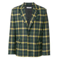 可绅士可雅痞,一件格纹西装外套便能搞定