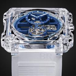 MR PORTER 与BELL & ROSS 呈现全新 BR-X1蓝宝石玻璃镂通陀飞轮腕表