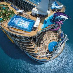 全新的冒险之旅即将启程——皇家加勒比迎来全球最大游轮