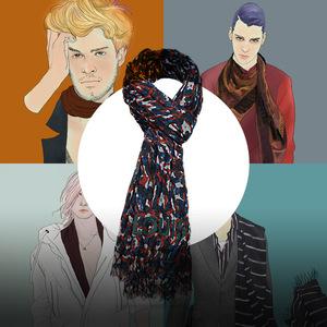 图说时尚 四个品牌教你选围巾