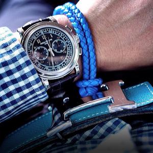 腕表还要手链配 考验男人的品味