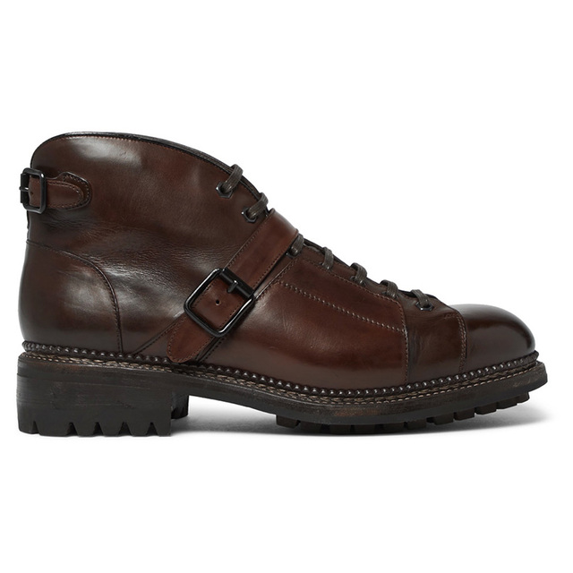 """水洗皮靴独特的""""糙汉""""美"""