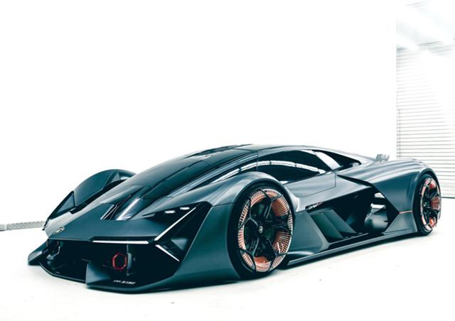在麻省理工学院化学系教授 Mircea Dinca、机械工程系教授 Anastasios John Hart和 Lamborghini 研发工程师等专业人员的共同设计和开发下,它采用了全碳纤维的车体结构,超轻量化成为它最大的特点。同时,车身表面的材质也被减少到了最低限额,呈现出了最佳的空体力学,十分具有前瞻性。
