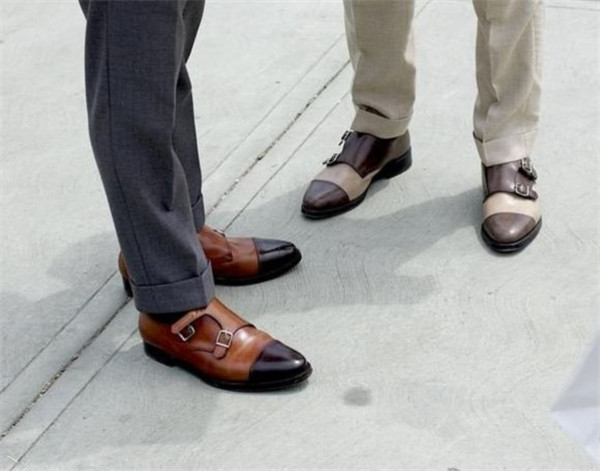 Monk皮鞋:始于禁欲系的捆绑play 潮流 Gq男士网