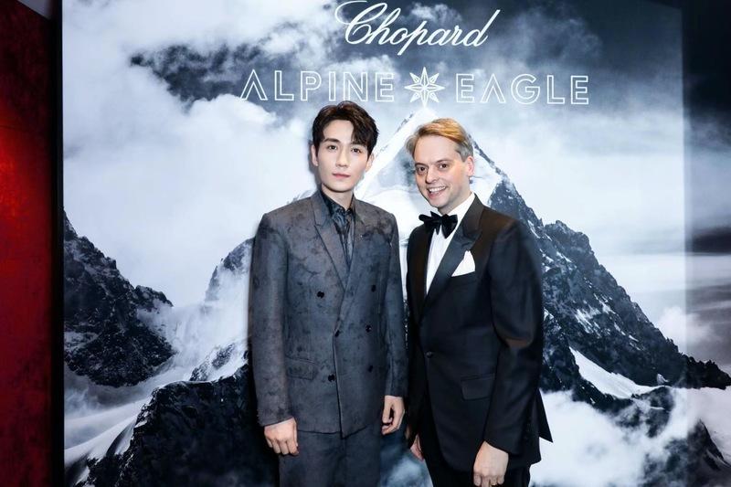 雄鹰之志 洞见未来 Chopard萧邦携品牌大使朱一龙领略Alpine Eagle系列腕表崭新风貌