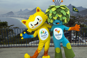2016年里约奥运会吉祥物发布 捧腹看历届吉祥物逗逼出境