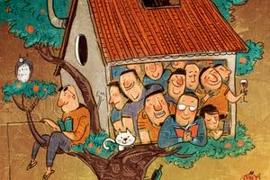 我的理想房子,是擠滿朋友的小房子