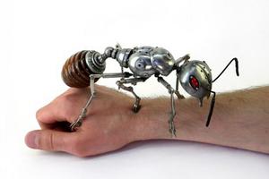Igor Verniy的机械雕塑