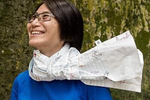 不只是记事本的围巾