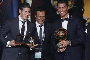2014国际足联金球奖颁奖典礼:C罗成功卫冕