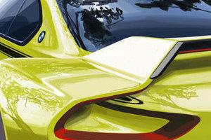 BMW 3.0 CSL Hommage概念車預告圖發布