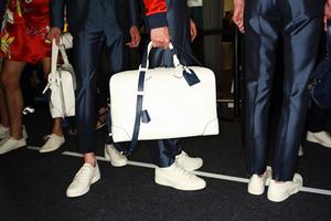 2016巴黎春夏男装周Louis Vuitton秀场后台