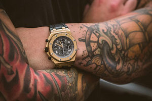 纹身戴表 竟是这样的效果