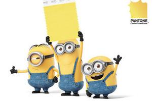 这不是克莱因蓝,这是小黄人黄!