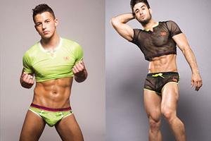 美国设计师设计男性时尚健身衣 猛男or娘炮傻傻分不清