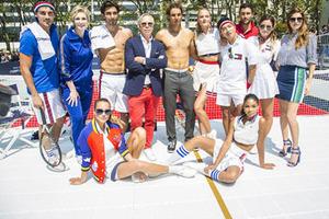 TOMMY HILFIGER舉辦網球賽啟動納達爾全球品牌大使形象