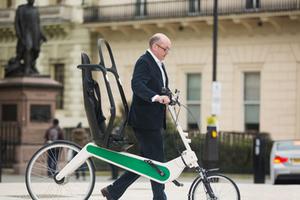 世界无车日 你可能会在路上看到这样的自行车