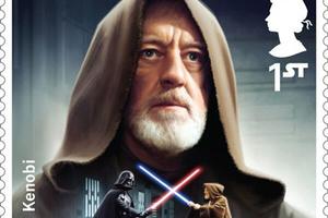 全新《星战》主题邮票发行 庆祝《星球大战VII:原力觉醒》上映