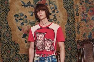 Gucci 2017 Cruise collection系列男装之一:针织衫&T恤