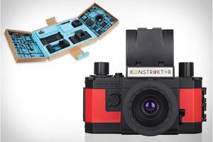 自己动手做相机!Konstruktor 35mm单反相机