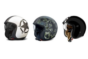 复古摩托头盔