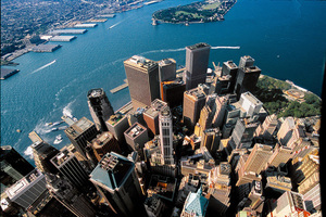 上帝视角拍世界之都纽约