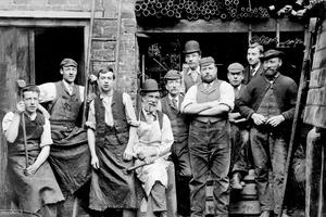 从100多年前英国老照片 解读工业革命