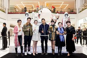 盟可睐 MONCLER GRENOBLE  雪球艺术装置于北京 SKP 隆重开展