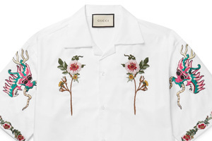古法的刺绣工艺竟能让一件polo衫改头换面