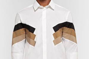 硬派军旅短袖衬衫