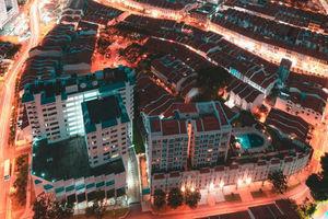 摄影师拍新加坡震撼城市风光 仿若科幻片中场景