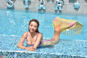 陈蕊蕊投资6位数开美人鱼学院 引入新泳式预数月内回本