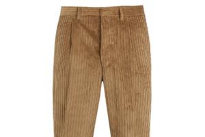 穿一条灯芯绒长裤感受一下父辈的旧日时光