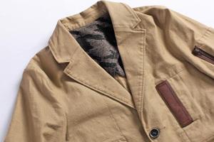 古着军装夹克的多种搭配